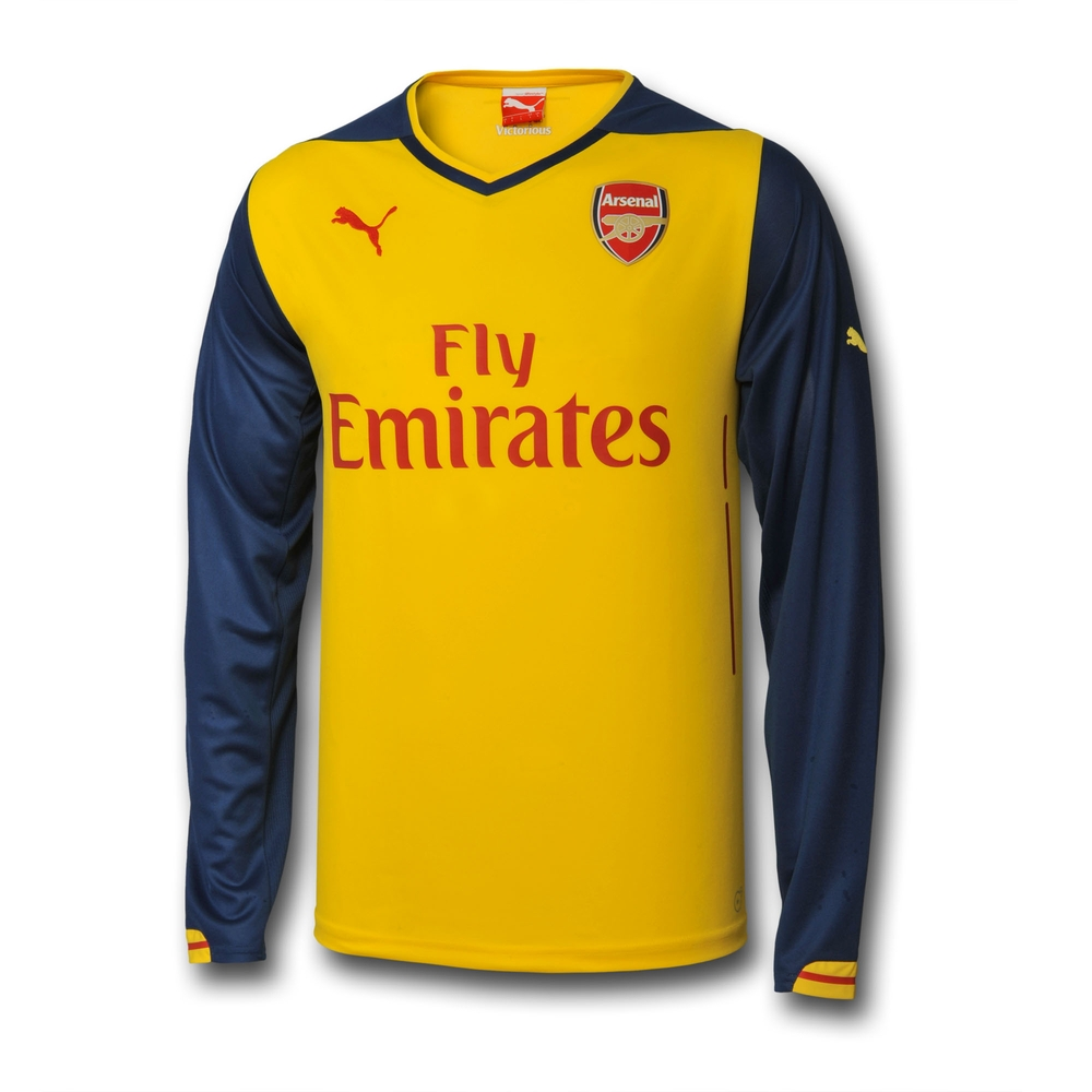 arsenal long sleeve jersey