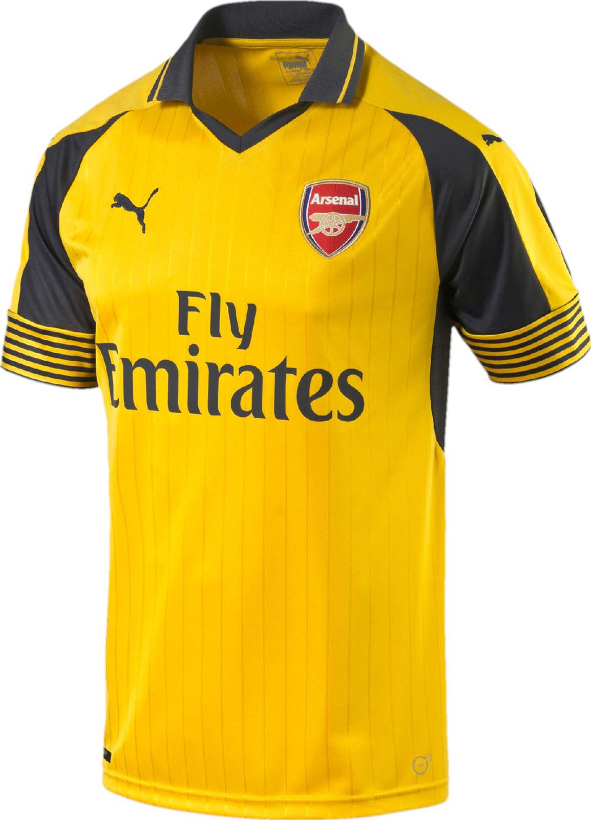 arsenal yellow jersey