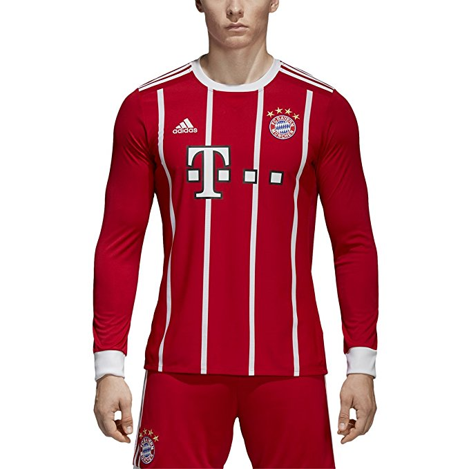 bayern munich long sleeve jersey
