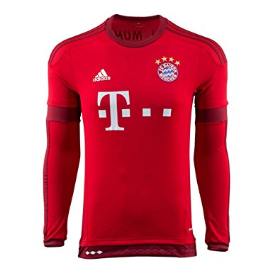 long sleeve bayern munich jersey