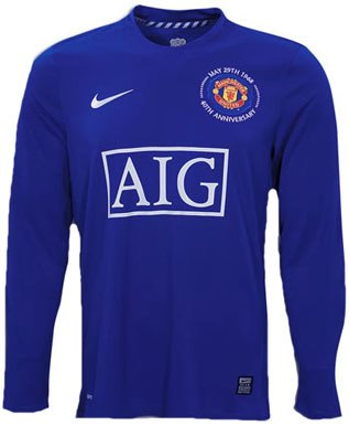 manchester united blue jersey