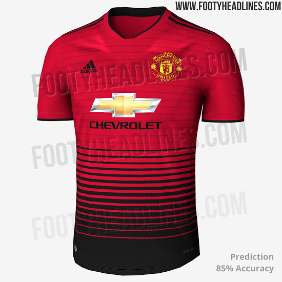 manchester united new jersey