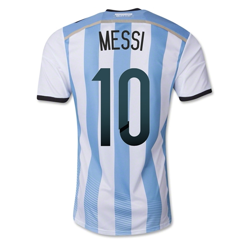messi jersey number