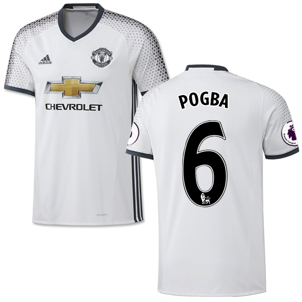 official photos 575aa f0662 paul pogba long sleeve jersey