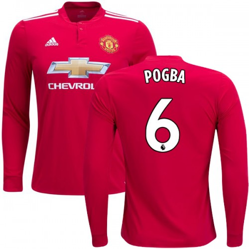 paul pogba long sleeve jersey