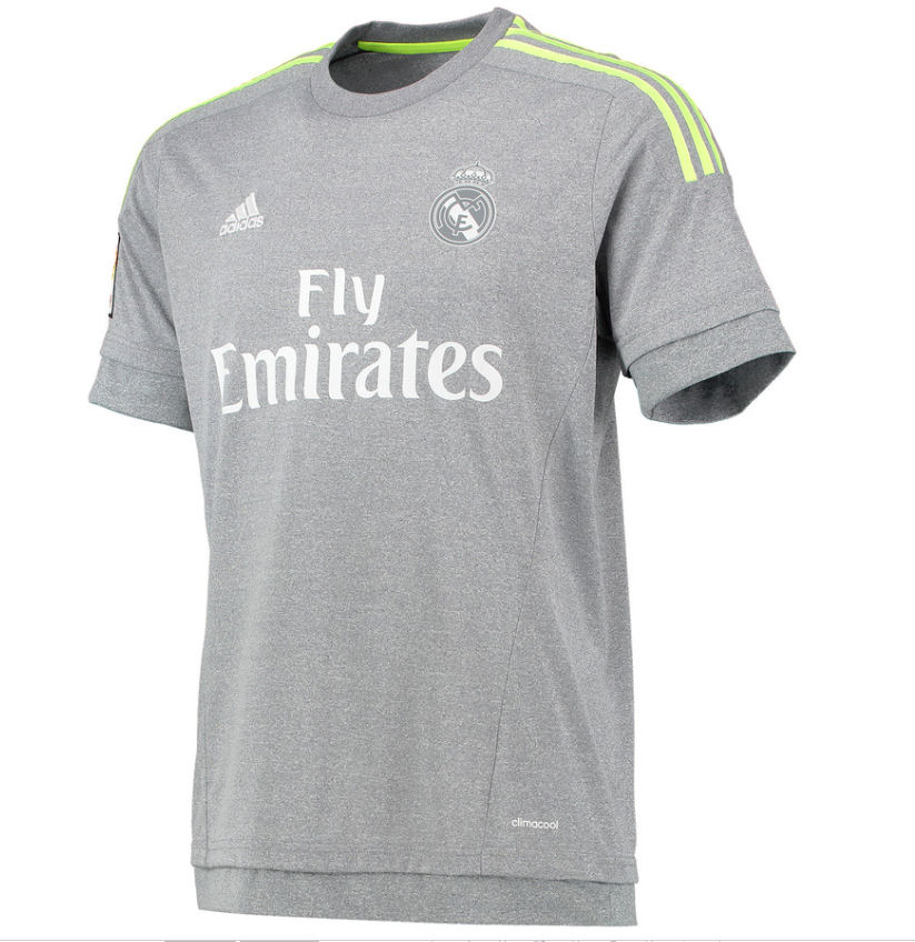 real madrid away jersey 2016