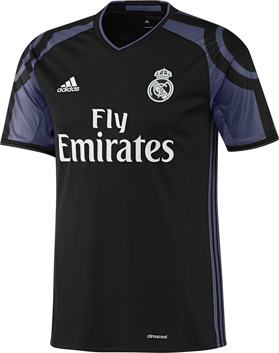 real madrid black jersey