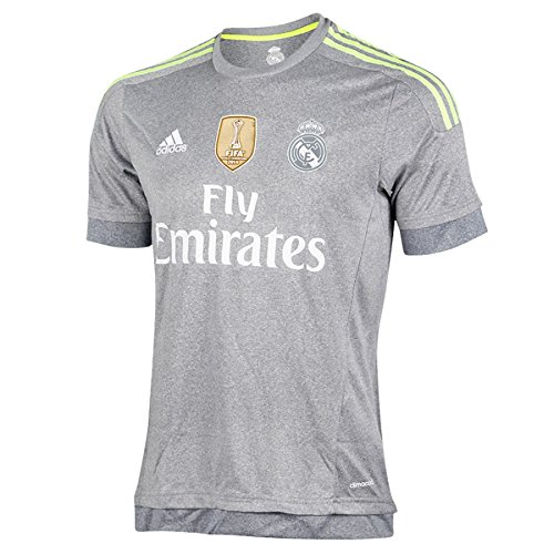 real madrid grey jersey