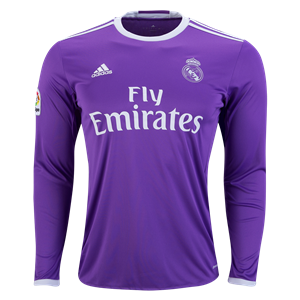 real madrid long sleeve jersey