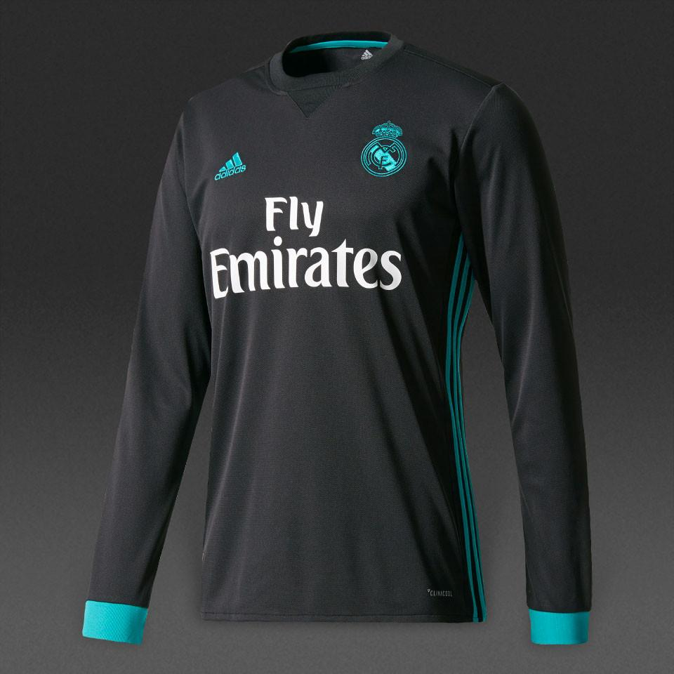 real madrid long sleeve jersey 070a2b659