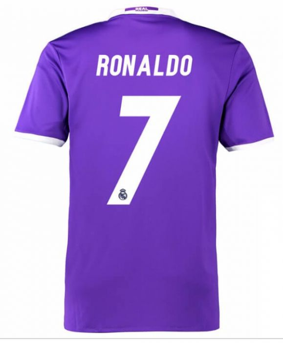 ronaldo real madrid jersey