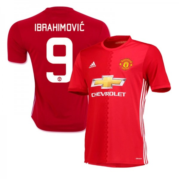 best service 6acfb 665cb zlatan ibrahimovic manchester united jersey